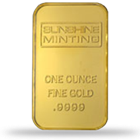 PAMP/Credit Suisse/Sunshine Mint Gold Bars