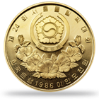 South Korean Gold Coin