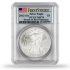 American Silver Eagles    PCGS Graded