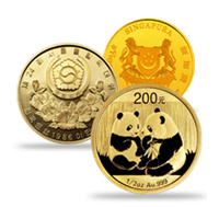Asian Gold Coins