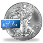 2013 US Mint Silver Eagle Coins