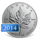 2014 Canadian Silver Maple Coins