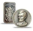 Silver Art Bars & Rounds