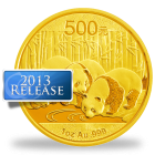 2013 Chinese Gold Coins & Bars