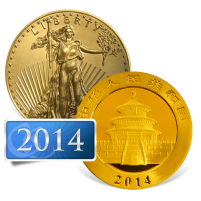 2014 Gold Bullion Coins