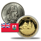 Bermuda Coins, bars and rounds